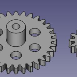 pignon.png Télécharger fichier OBJ Pignon • Plan à imprimer en 3D, r7c