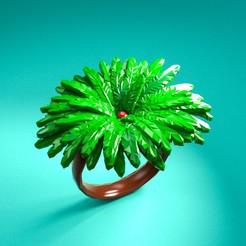 tree.jpg Télécharger fichier STL Anneau de palmier • Plan à imprimer en 3D, devil_nash87