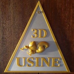 20200728_121322.jpg Télécharger fichier STL gratuit Panneau Usine 3D Scrat • Modèle pour impression 3D, hervea