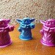 Télécharger fichier STL gratuit Baby Yoda • Plan à imprimer en 3D, hervea