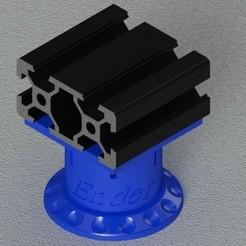 Imprimir en 3D Ender 3 Piernas Estabilizadoras, TridiStudium