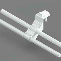 Resim 3.jpeg Download STL file Radiator Laundry Drying Stand (Eko Double Model) • Model to 3D print, TridiStudium