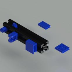 Download free 3D printing designs Ender 3 Cable Holders, TridiStudium