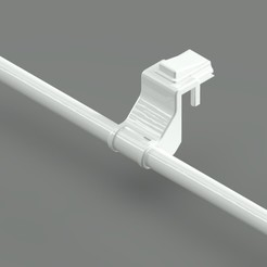 Resim 1.jpeg Download STL file Radiator Laundry Drying Stand (Eko Single Model) • 3D printer template, TridiStudium