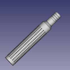 Download 3D model Water pump suction strainer diameter 22mm by Hotmilk, kevincholley