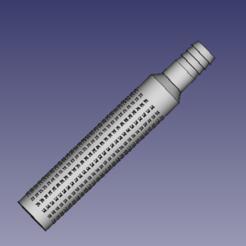 crépine.PNG Télécharger fichier STL Crépine filtre aspiration pompe a eau diamètre 22mm par Hotmilk • Design pour impression 3D, kevincholley