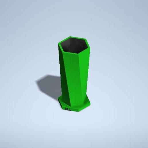 basurfr.jpg Download free STL file cup-pencil cup • 3D printable design, MLL