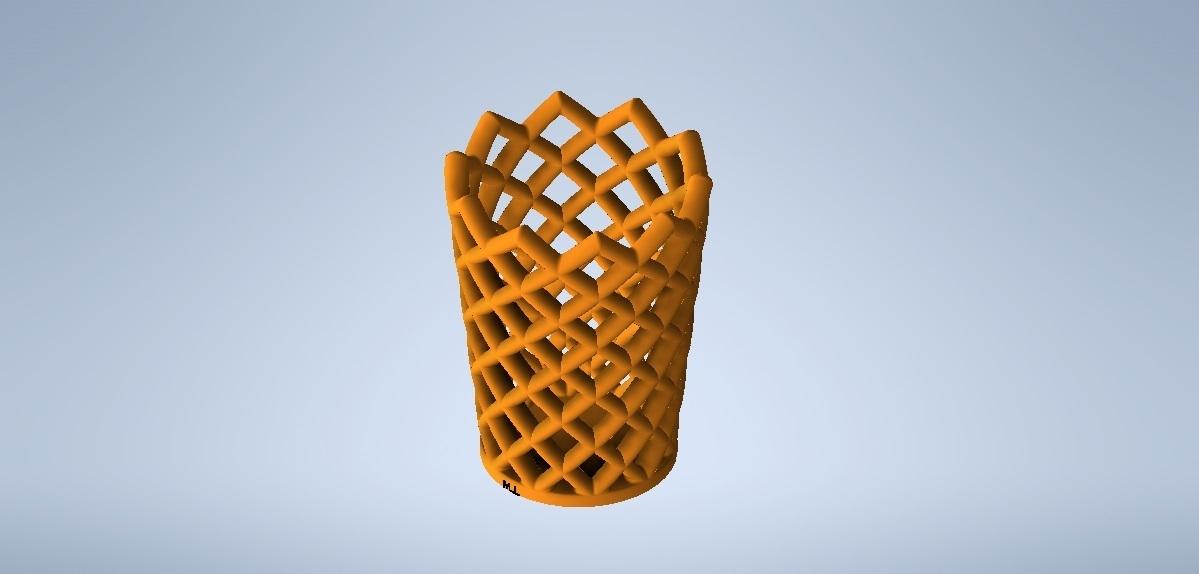 lapicero2.jpg Télécharger fichier STL gratuit porte-crayon • Modèle à imprimer en 3D, MLL