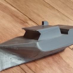 Download 3D printing templates longliner boat, MLL