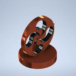 Download free STL file lauburu • 3D printable design, MLL