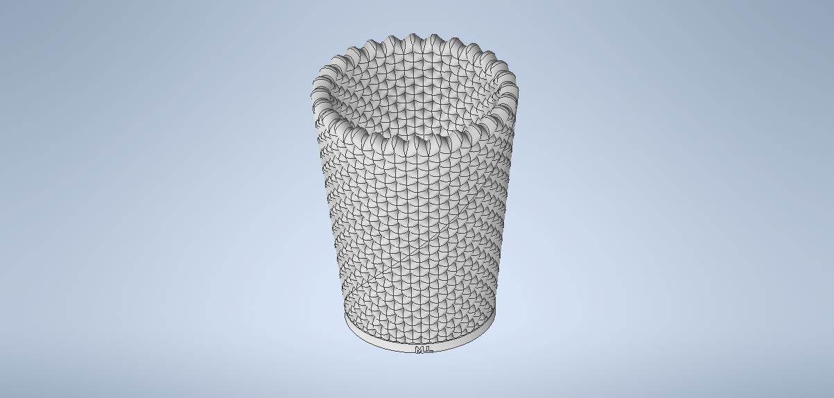 vaso3.0.jpg Download free STL file cup-pencil holder • 3D printable object, MLL