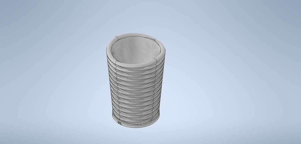 baso.jpg Download free STL file pencil cup • 3D print object, MLL