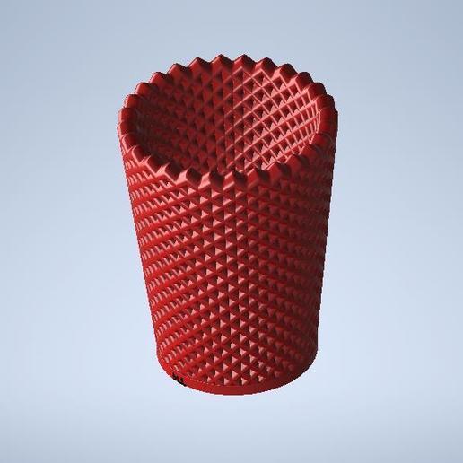 vaso3.0jkl.jpg Télécharger fichier STL gratuit porte-gobelet et porte-crayon • Design pour imprimante 3D, MLL