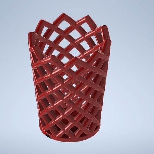 Download free STL file pencil holder • 3D print design, MLL