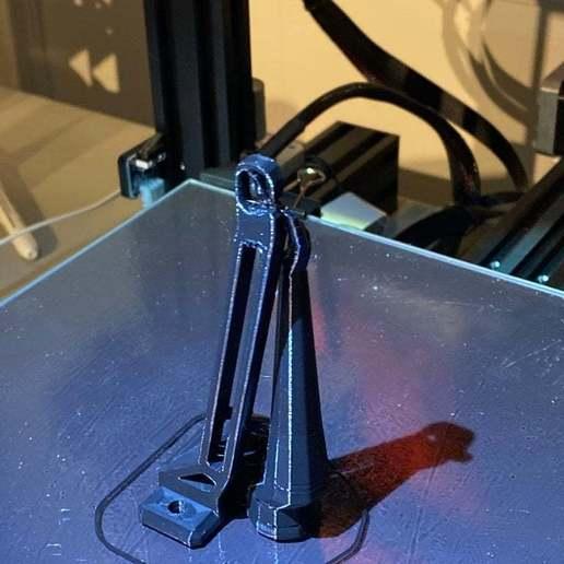 IMG_1228.jpeg Télécharger fichier 3MF gratuit Guide de filament Ender 3 avec trous de vis • Objet à imprimer en 3D, elJefePlastico