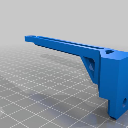 flmnt_guide_bottom_hole.png Télécharger fichier 3MF gratuit Guide de filament Ender 3 avec trous de vis • Objet à imprimer en 3D, elJefePlastico