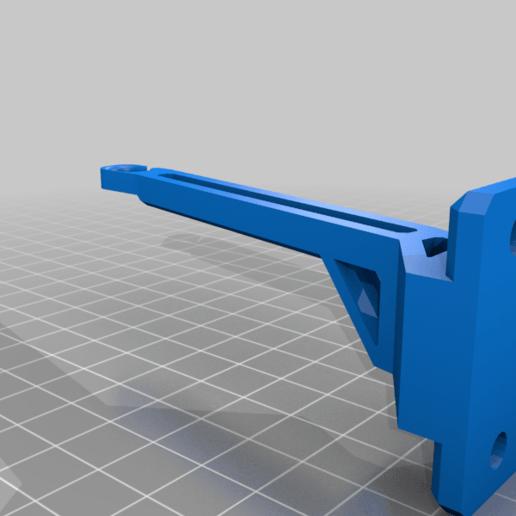 flmnt_guide_holes.png Télécharger fichier 3MF gratuit Guide de filament Ender 3 avec trous de vis • Objet à imprimer en 3D, elJefePlastico