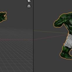 Download free 3D printing files Hulk, DIESALEM