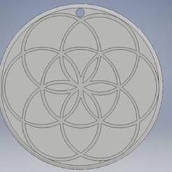 Télécharger objet 3D gratuit semence de vie, baja3dprint