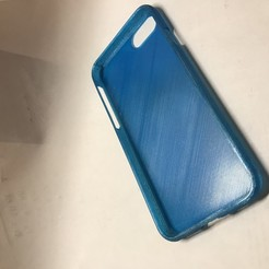 Imprimir en 3D caja flexible para el iPhone 7, 8 y SE., baja3dprint