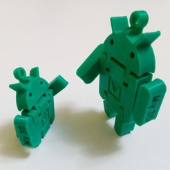 IMG_20200425_212433.jpg Download free STL file Android Keychain • Design to 3D print, My3D