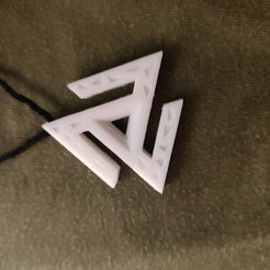 Download free 3D printer designs Animus Pendant, Etienneg