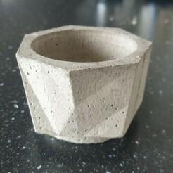 20210103_135246.jpg Télécharger fichier STL Moules pour pot / vase / récipient (objet E) • Objet à imprimer en 3D, HobbyBoby