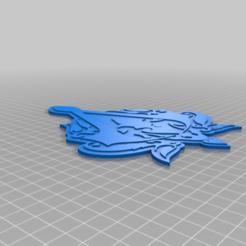 ACR_Logo_STL.png Download free OBJ file Assassin's Creed Revelations Wall Hanger • 3D printable model, mxschmr435