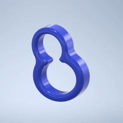 Download 3D printing templates Penis ring and scrotum cock ring ball strecher, gaetp6511