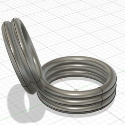 Download STL files Double ring, gaetp6511