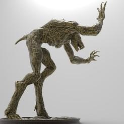 Werewolf-1-25x25-2.jpg Download free STL file Werewolf | Witcher • 3D printing object, alexndefo