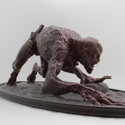 Ghoul-3-25x50-3.jpg Download free STL file Ghoul | Witcher • 3D print design, alexndefo