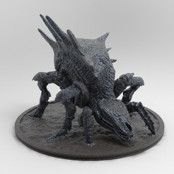 krabopavouk.25.jpg Download free STL file Armored Arachas | Witcher • 3D printer template, alexndefo