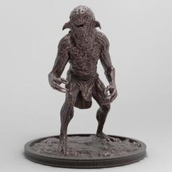 Nekker1-25x25-1.jpg Download free STL file Nekker 1 | Witcher • 3D printable model, alexndefo