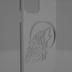Descargar archivos 3D gratis iphone 11, 11 pro, 11 pro max wolf case, Aorexpo3D