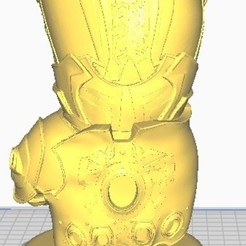 Image.jpg Download STL file MATTE INFINITY GAUNTLET • 3D printable template, christopher_rambo22