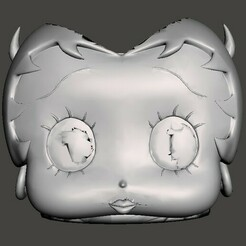 Sin título4.jpg Download STL file MATE BETTY BOOP • 3D print object, christopher_rambo22