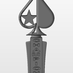 Image.jpg Download STL file POKER CHAMPION TROPHY • 3D printer design, christopher_rambo22