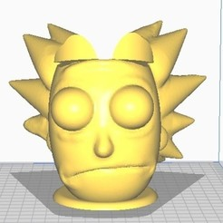 Download 3D printing models MATE RICK, christopher_rambo22