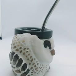 Download 3D printing designs matte owl, oster3d