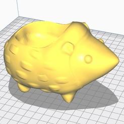 Download 3D printer files Hedgehog pot, oster3d