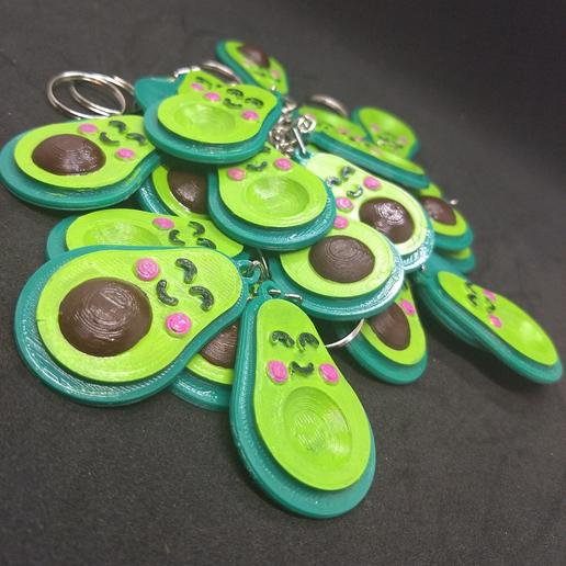 Download 3D model Avocado key ring, oster3d