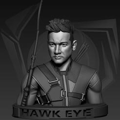 Descargar archivos 3D Hawk Eye | Avengers, OwenAlcocer