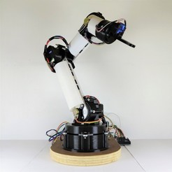 Copertina.jpg Télécharger fichier STL Bras robotique • Modèle imprimable en 3D, IDeMa_3D