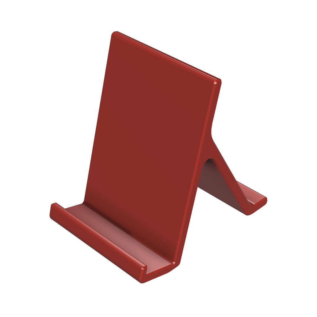 Stand smartphone 1.png Download free STL file Smartphone stand • 3D printing design, IDeMa_3D