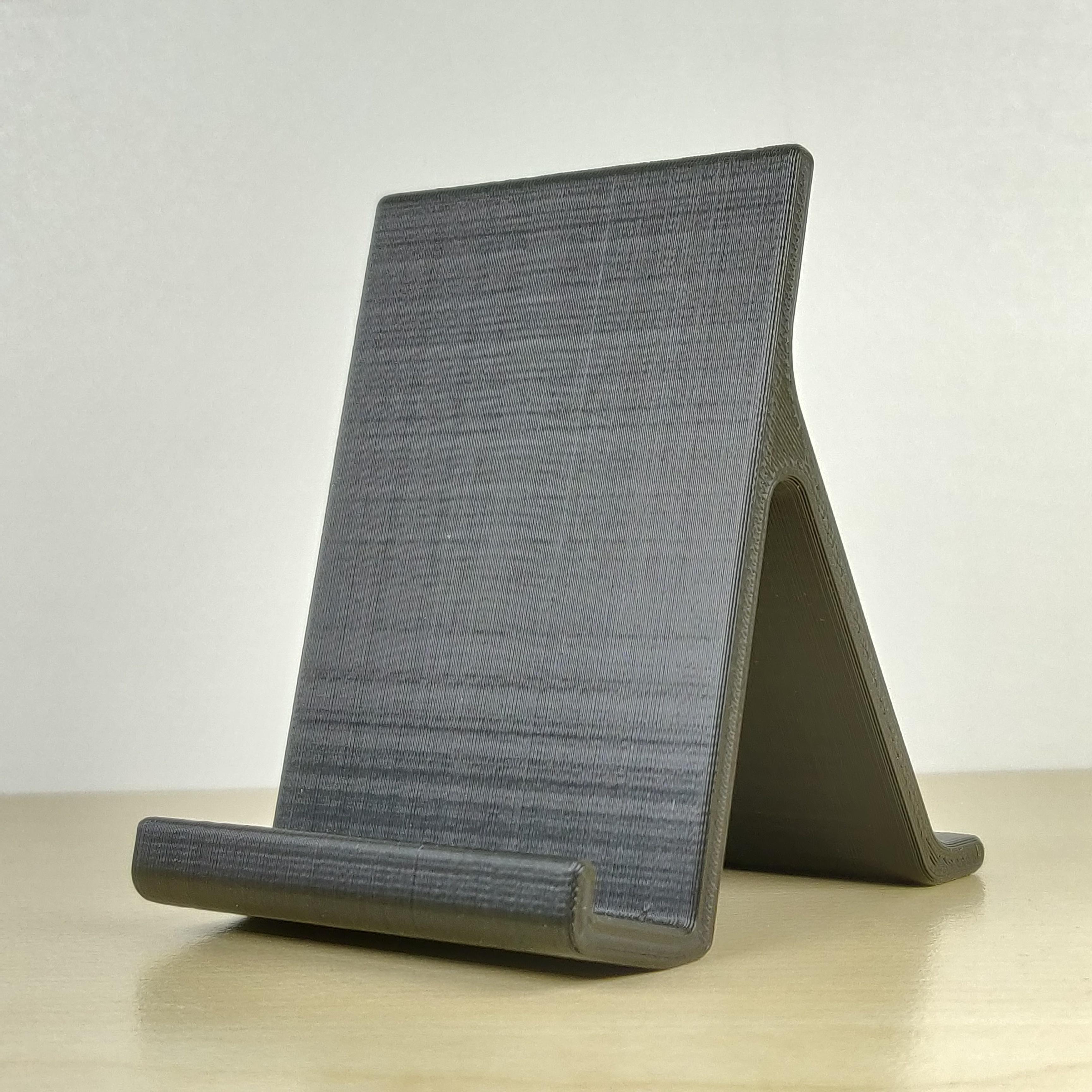 2.jpg Download free STL file Smartphone stand • 3D printing design, IDeMa_3D
