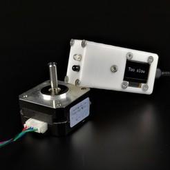 1.jpg Télécharger fichier STL Tachymètre numérique Arduino • Modèle pour impression 3D, IDeMa_3D