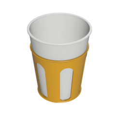 Porta bicchiere v2.png Download free STL file Cup holder • 3D printer design, IDeMa_3D