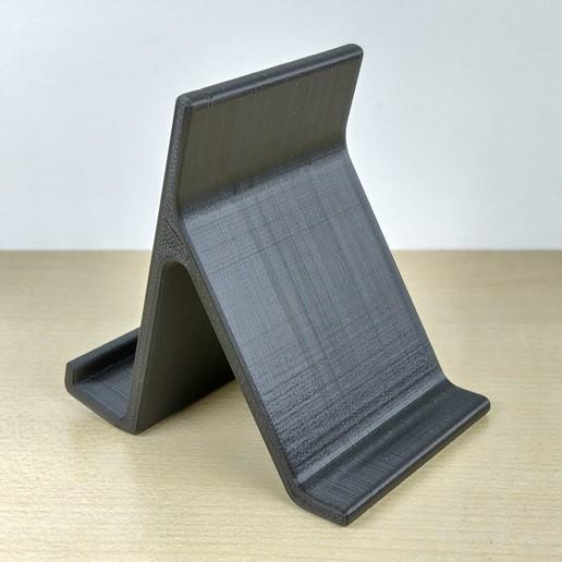 6.jpg Download free STL file Smartphone stand • 3D printing design, IDeMa_3D