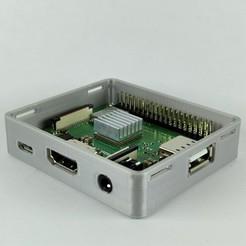 1.jpg Télécharger fichier STL Affaire Framboise pi3 a+ • Objet imprimable en 3D, IDeMa_3D